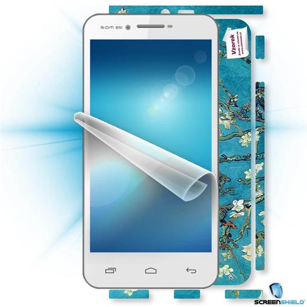 ScreenShield GigaByte GSmart Sierra S1 - Film for display protection and voucher for decorative skin (including shipping