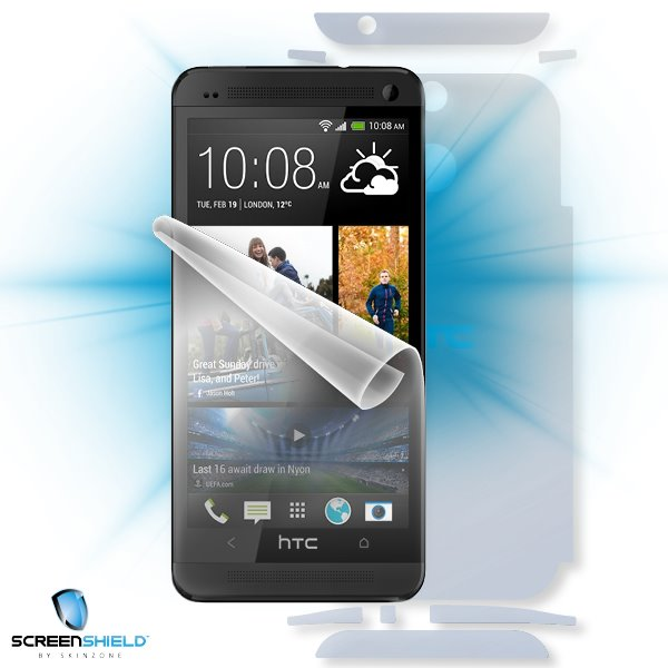 ScreenShield HTC One (M8) - Film for display + body protection