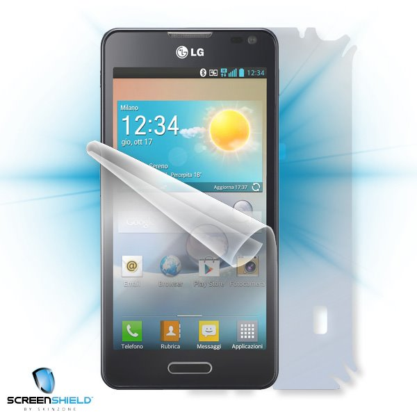 ScreenShield LG D505 Optimus F6 - Film for display + body protection