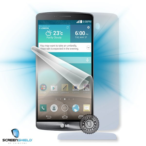 ScreenShield LG D855 G3 - Film for display + body protection