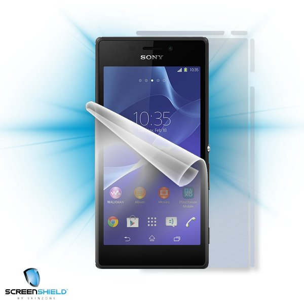 ScreenShield Sony Xperia M2 - Film for display + body protection