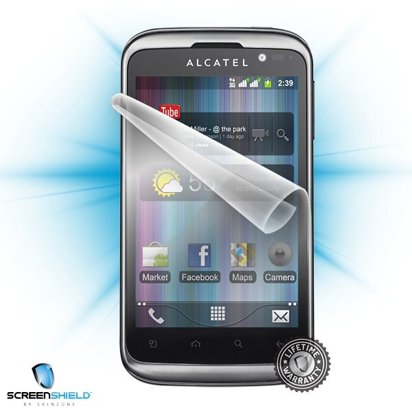 ScreenShield Alcatel One Touch 991D - Film for display protection