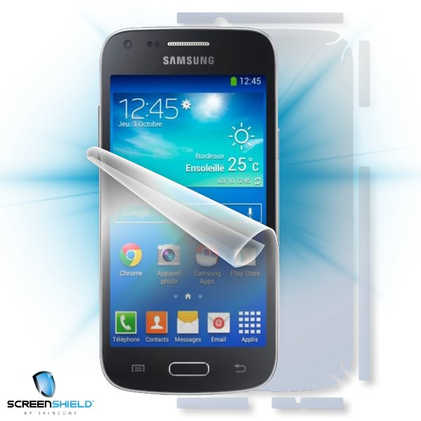 ScreenShield Samsung G3500 (G350) Galaxy Core Plus - Film for display + body protection