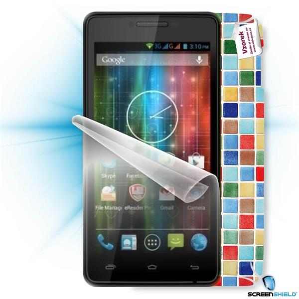 ScreenShield Prestigio PAP 5500D DUO - Film for display protection and voucher for decorative skin (including shipping f