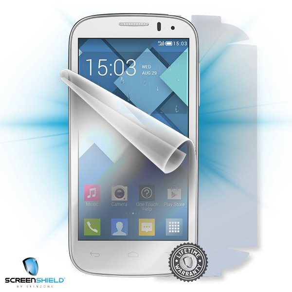 ScreenShield Alcatel One Touch 5036D Pop C5 - Film for display + body protection