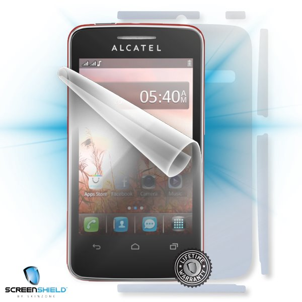 ScreenShield Alcatel One Touch 3040D Tribe - Film for display + body protection