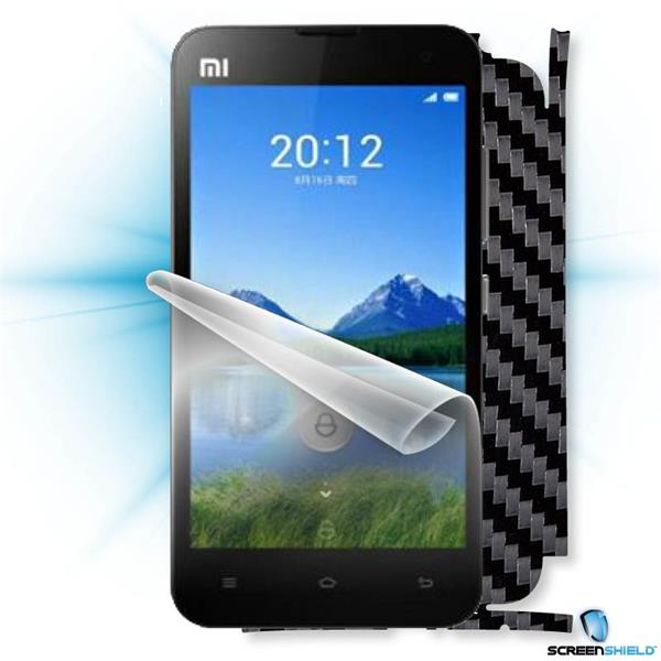ScreenShield Xiaomi MI2S - Films on display and carbon skin (black)