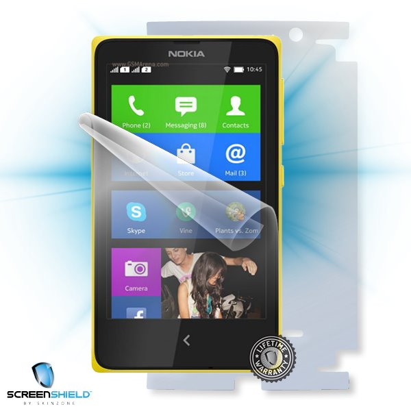 ScreenShield Nokia X RM980 - Film for display + body protection