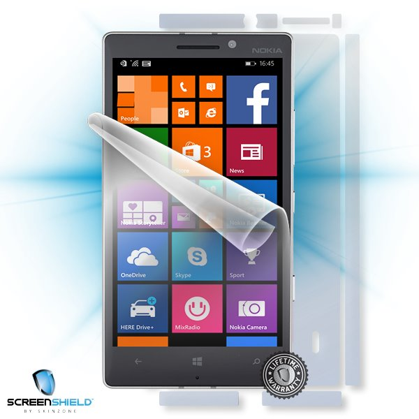 ScreenShield Nokia Lumia 930 - Film for display + body protection