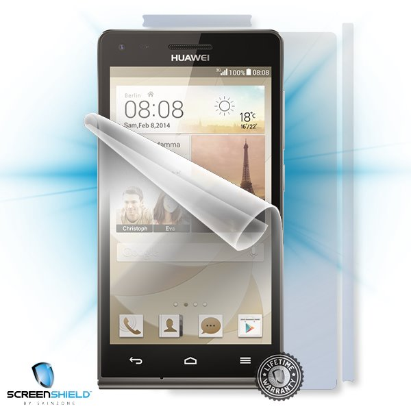 ScreenShield Huawei Ascend G6 - Film for display + body protection