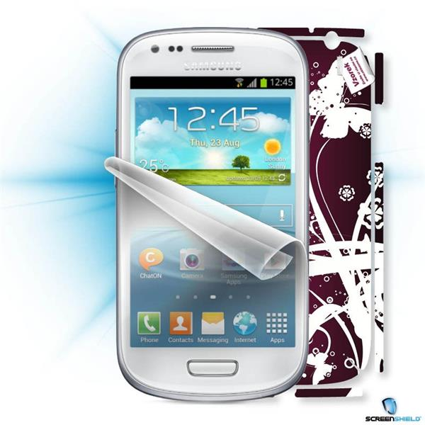 ScreenShield Samsung i9195 Galaxy Galaxy S4 mini - Film for display protection and voucher for decorative skin (includi