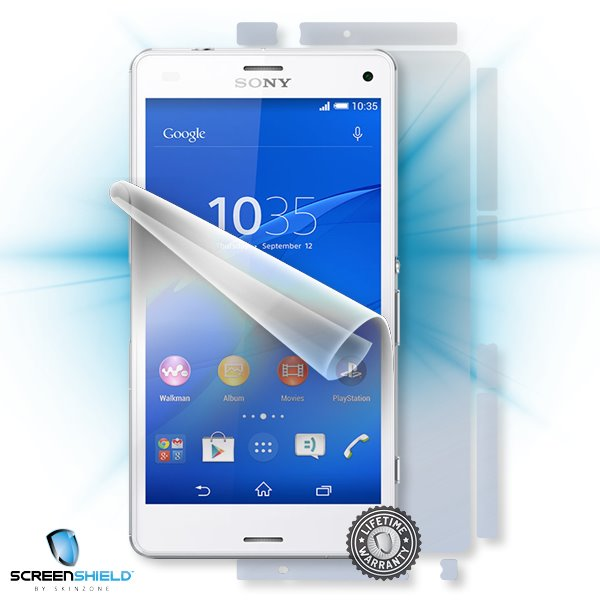 ScreenShield Sony Xperia Z3 Compact - Film for display + body protection
