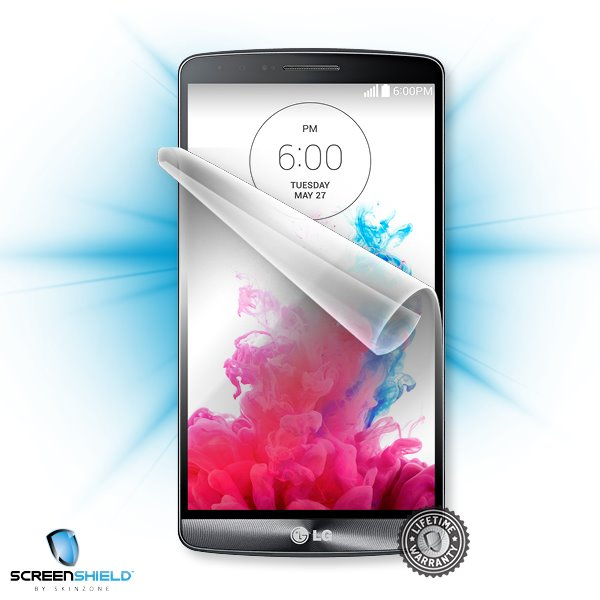 ScreenShield LG D722 G3s - Film for display protection and voucher for decorative skin (including shipping fee to end cu