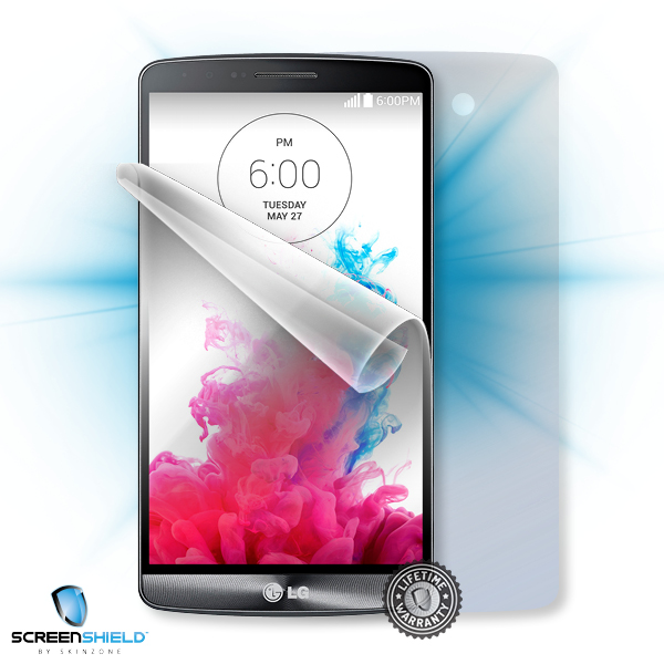 ScreenShield LG D722 G3s - Film for display + body protection