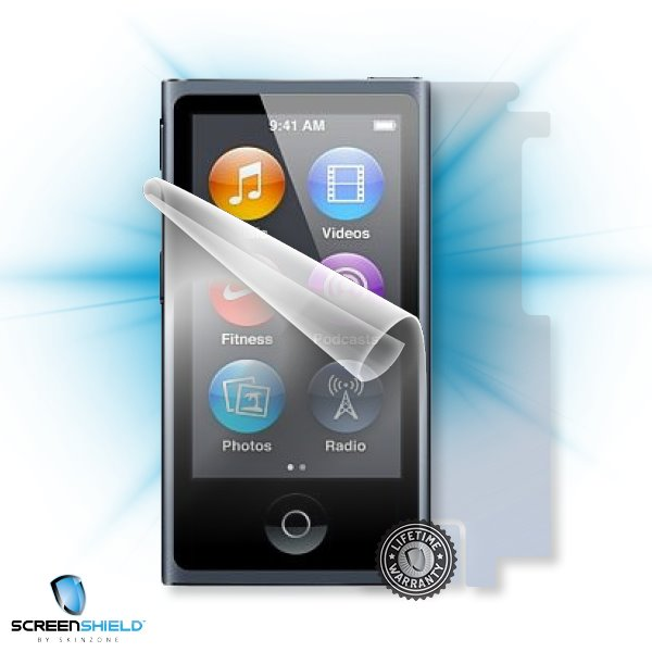 ScreenShield iPod nano 7G - Film for display + body protection