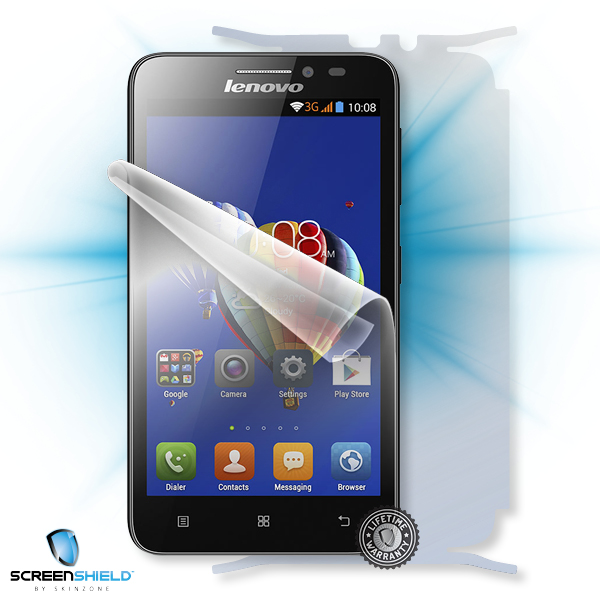 ScreenShield Lenovo A606 - Film for display + body protection