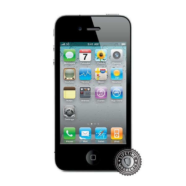 ScreenShield Apple iPhone 4/4S Tempered Glass - Film for display protection