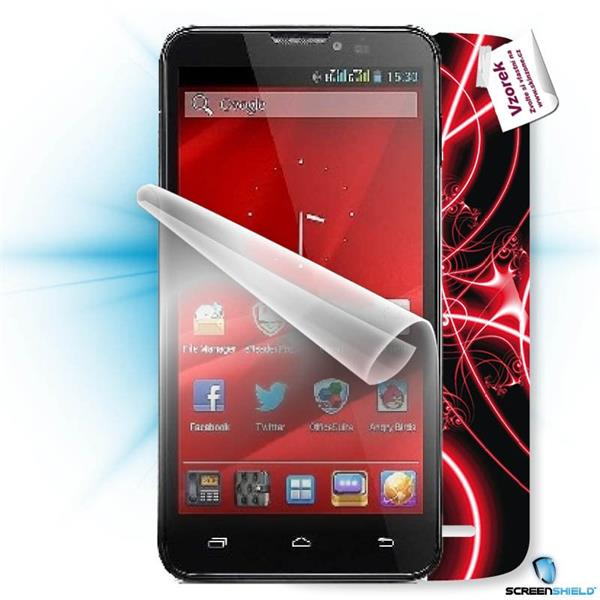 ScreenShield Prestigio PAP 7600 DUO - Film for display protection and voucher for decorative skin (including shipping fe