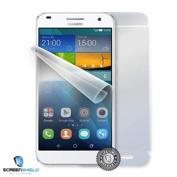 ScreenShield Huawei Ascend G7 - Film for display + body protection