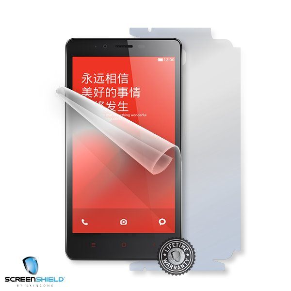 ScreenShield Xiaomi Hongmi REDMI Note - Film for display + body protection