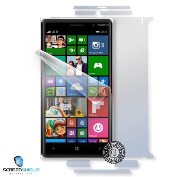 ScreenShield Nokia Lumia 830 - Film for display + body protection