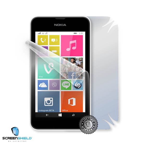 ScreenShield Nokia Lumia 530 - Film for display + body protection