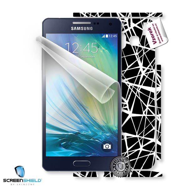 ScreenShield Samsung Galaxy A5 - Film for display protection and voucher for decorative skin (including shipping fee to
