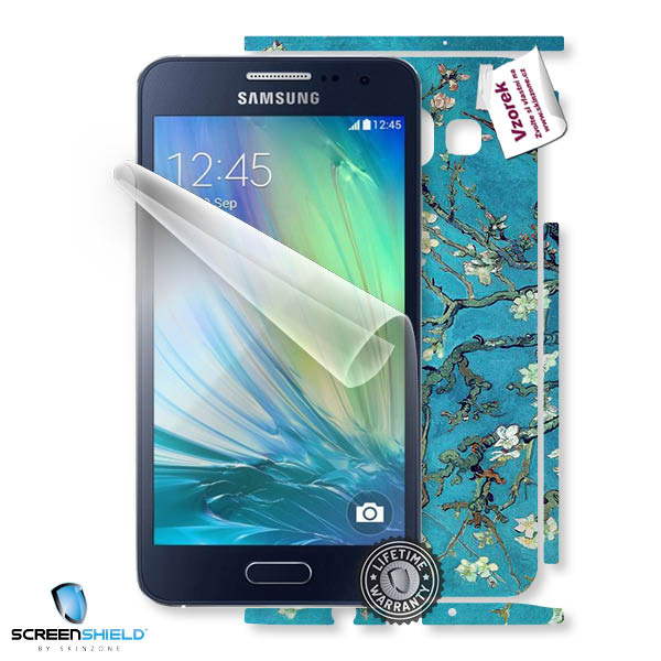 ScreenShield Samsung Galaxy A300F A3 - Film for display protection and voucher for decorative skin (including shipping f