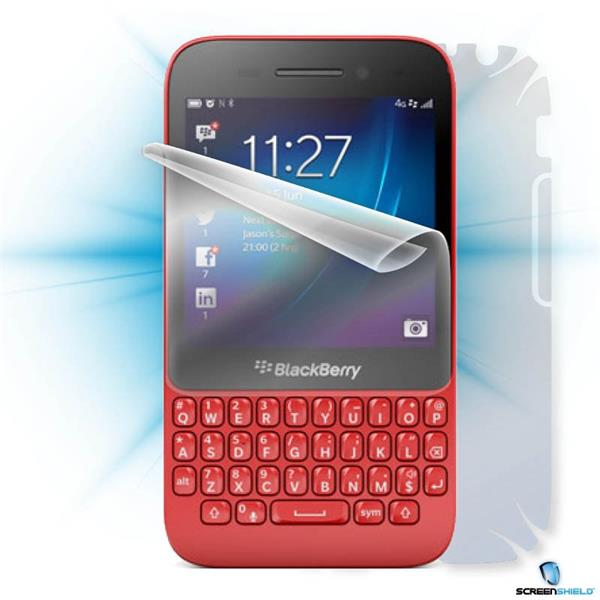 ScreenShield Blackberry Q5 - Film for display + body protection