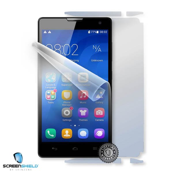 ScreenShield Huawei Honor 3C H30U10 - Film for display + body protection