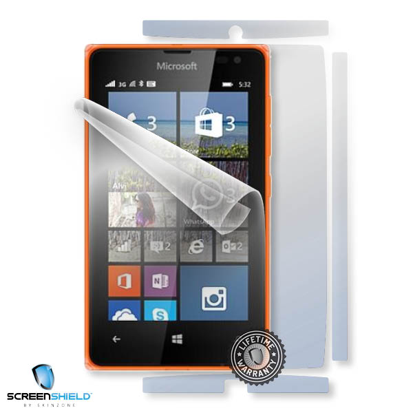 ScreenShield Nokia Lumia 532 - Film for display + body protection