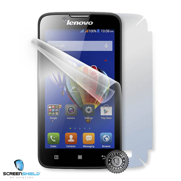 ScreenShield Lenovo A328 - Film for display + body protection