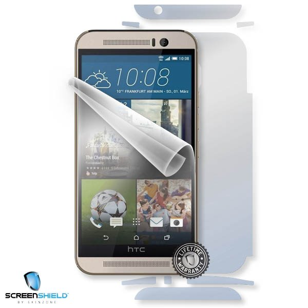 ScreenShield HTC One M9 - Film for display + body protection