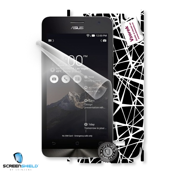 ScreenShield Asus ZenFone 5 A501CG - Film for display protection and voucher for decorative skin (including shipping fee