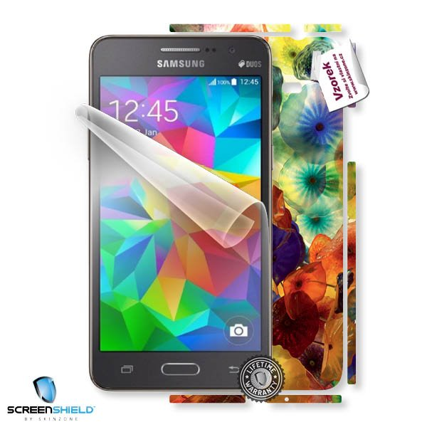 ScreenShield Samsung Galaxy Grand Prime G530 - Film for display protection and voucher for decorative skin (including sh