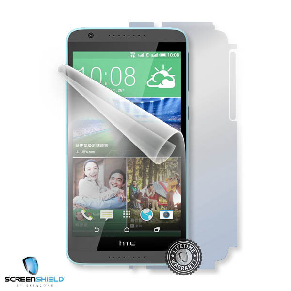 ScreenShield HTC Desire 820 - Film for display + body protection
