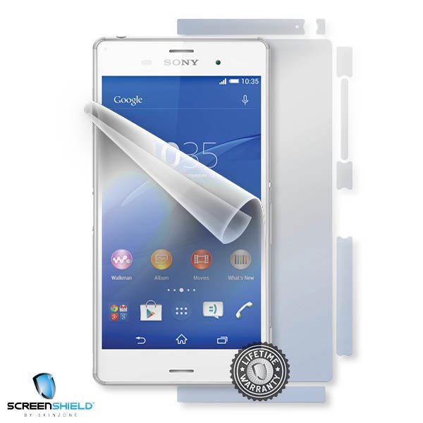 ScreenShield Sony Xperia Z3 Dual - Film for display + body protection