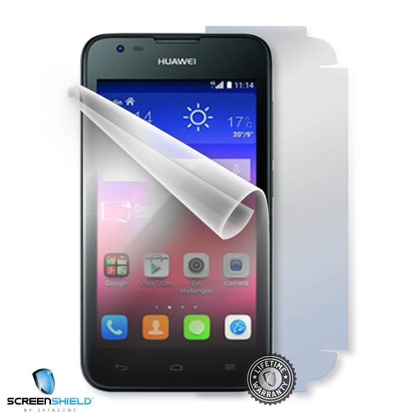 ScreenShield Huawei Ascend Y550 - Film for display + body protection
