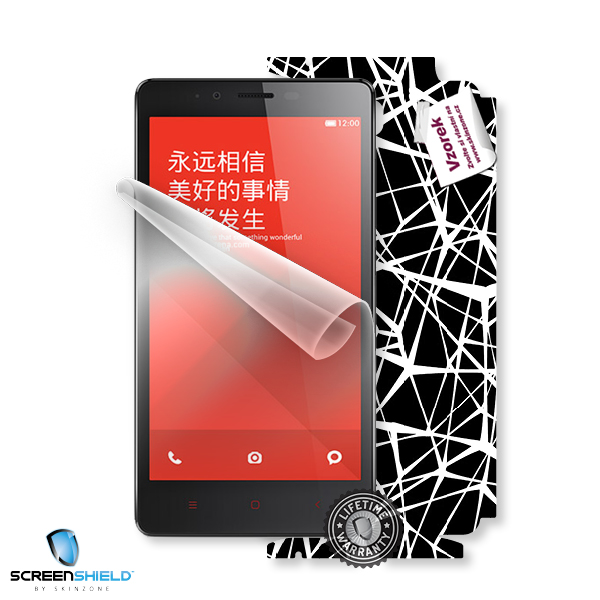 ScreenShield Xiaomi Hongmi REDMI Note - Film for display protection and voucher for decorative skin (including shipping