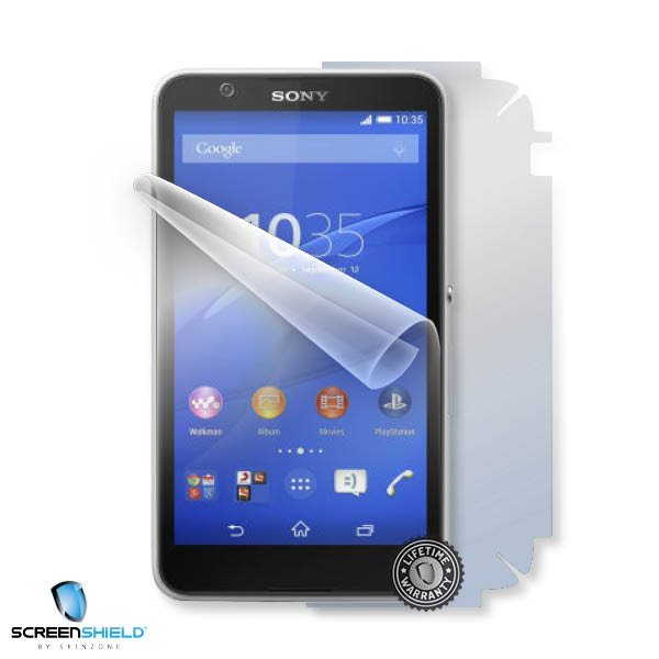 ScreenShield Sony Xperia E4 - Film for display + body protection
