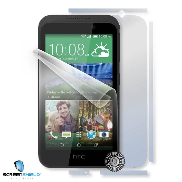 ScreenShield HTC Desire 320 - Film for display + body protection