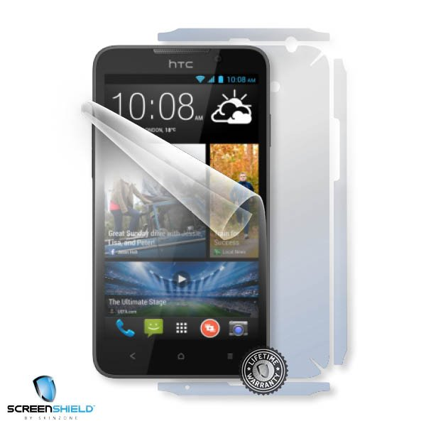 ScreenShield HTC Desire 516 - Film for display + body protection