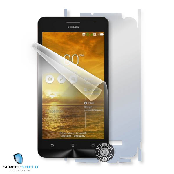 ScreenShield Asus Zenfone 5 A500KL - Film for display + body protection