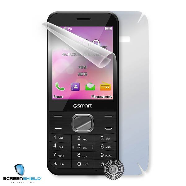 ScreenShield GigaByte GSmart F280 - Film for display + body protection