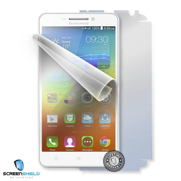 ScreenShield Lenovo A5000 - Film for display + body protection