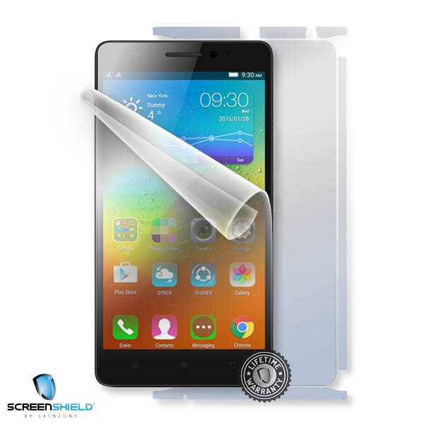 ScreenShield Lenovo A7000 - Film for display + body protection