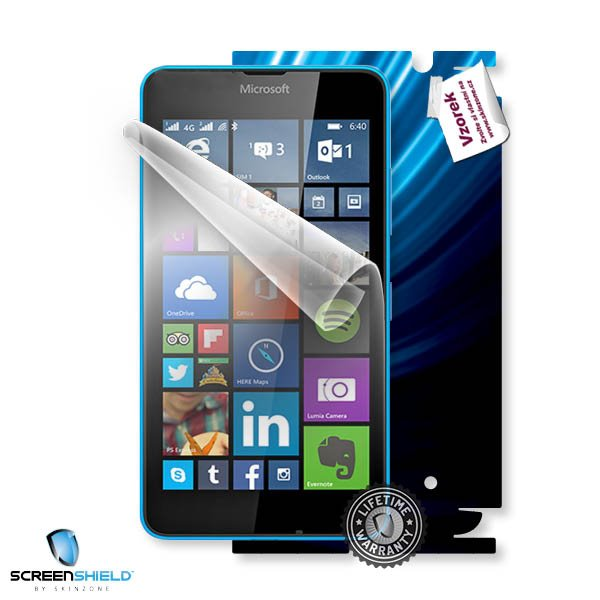 ScreenShield Microsoft Lumia 640 - Film for display protection and voucher for decorative skin (including shipping fee