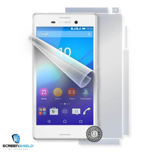 ScreenShield Sony Xperia M4 - Film for display + body protection