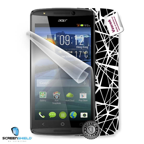ScreenShield Acer Liquid E700 - Film for display protection and voucher for decorative skin (including shipping fee to e