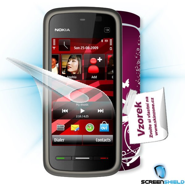 ScreenShield Nokia 5230 - Film for display protection and voucher for decorative skin (including shipping fee to end cus
